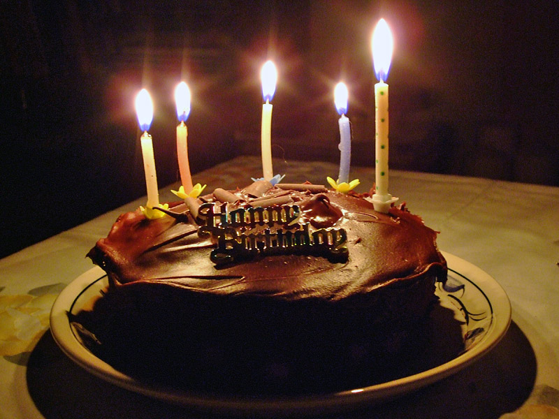 Chocolate Cake Images Birthday With Candles : VU Study: Re: (Attock VU Group) Lets Celebrate..birthday ...