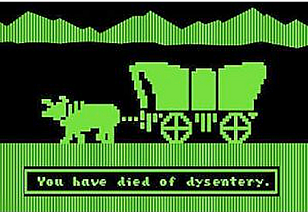 Dysentery, a shitty way to die