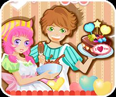 Bánh kem 20-10, chơi game làm bánh online tại gamevui