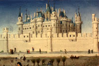 The Louvre in the 15th century