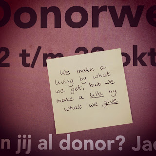 quote orgaan donatie donor ja of nee donorweek
