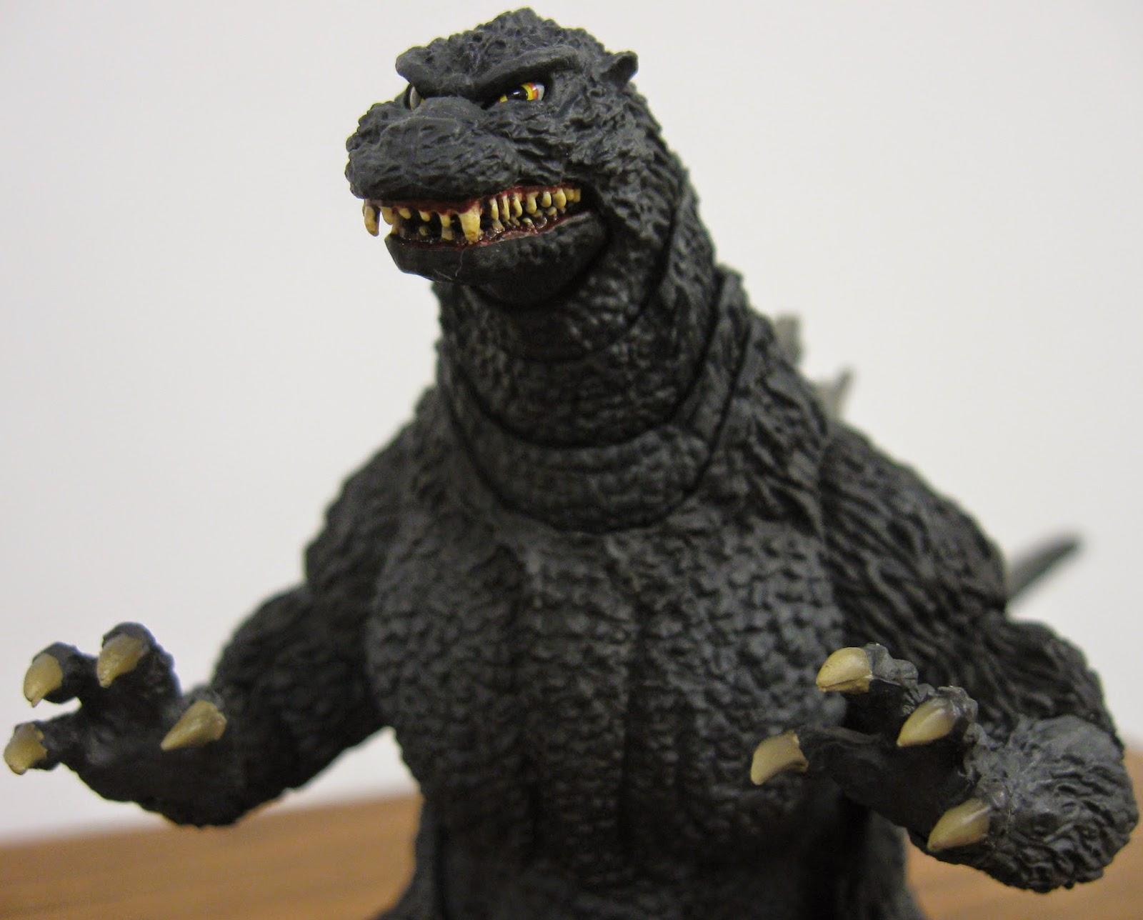 The Toyseum: S.H. MonsterArts Godzilla (Heisei/Birth ... Godzilla 1995 Birth