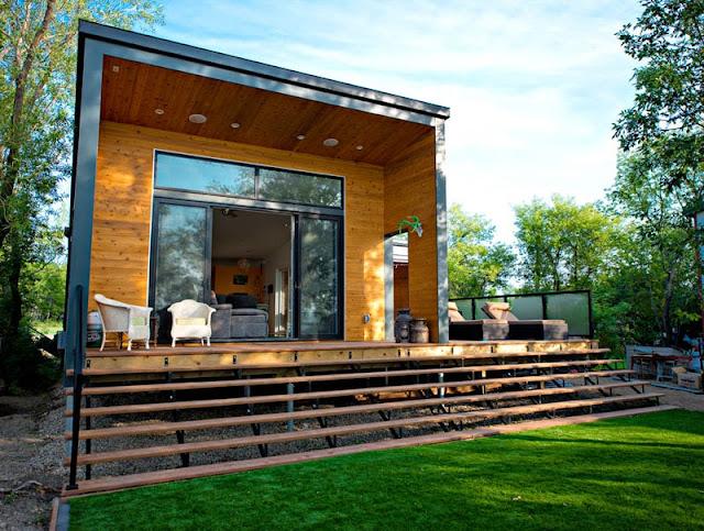 Blog wn trzarski design nowoczesne projekty wn trz dom - Casas prefabricadas rurales ...