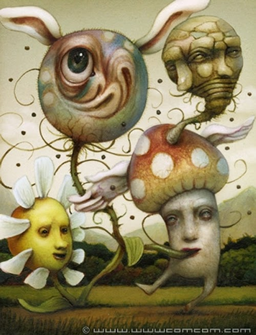 11-Let-It-Go-Naoto-Hattori-Dream-or-Nightmare-Surreal-Paintings-www-designstack-co
