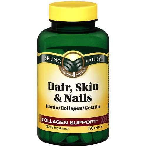 Hair skin nail vitamins target for Does fish oil help your hair grow