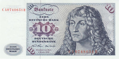 German banknotes 10 Deutsche Mark banknote money currency