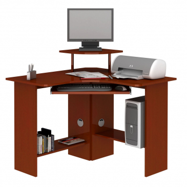 Bricolaje como hacer plano muebles melamina escritorio diy for Muebles para computador