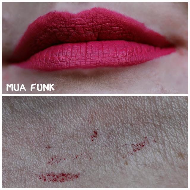 MUA Luxe Velvet Lip Lacquer in Funk