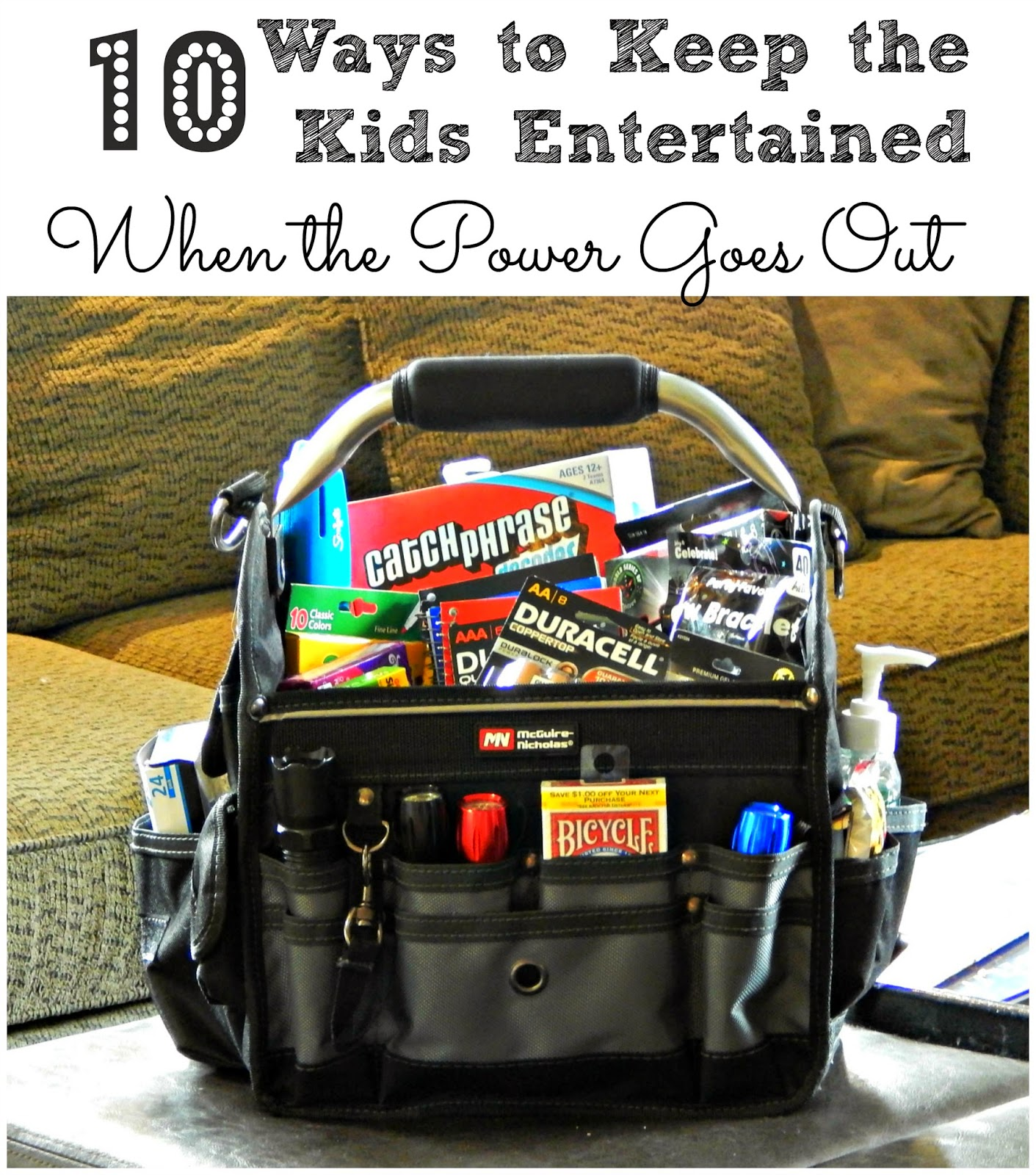 10 Ways to Keep the Kids Entertained When the Power Goes Out #PrepWithPower #shop #cbias