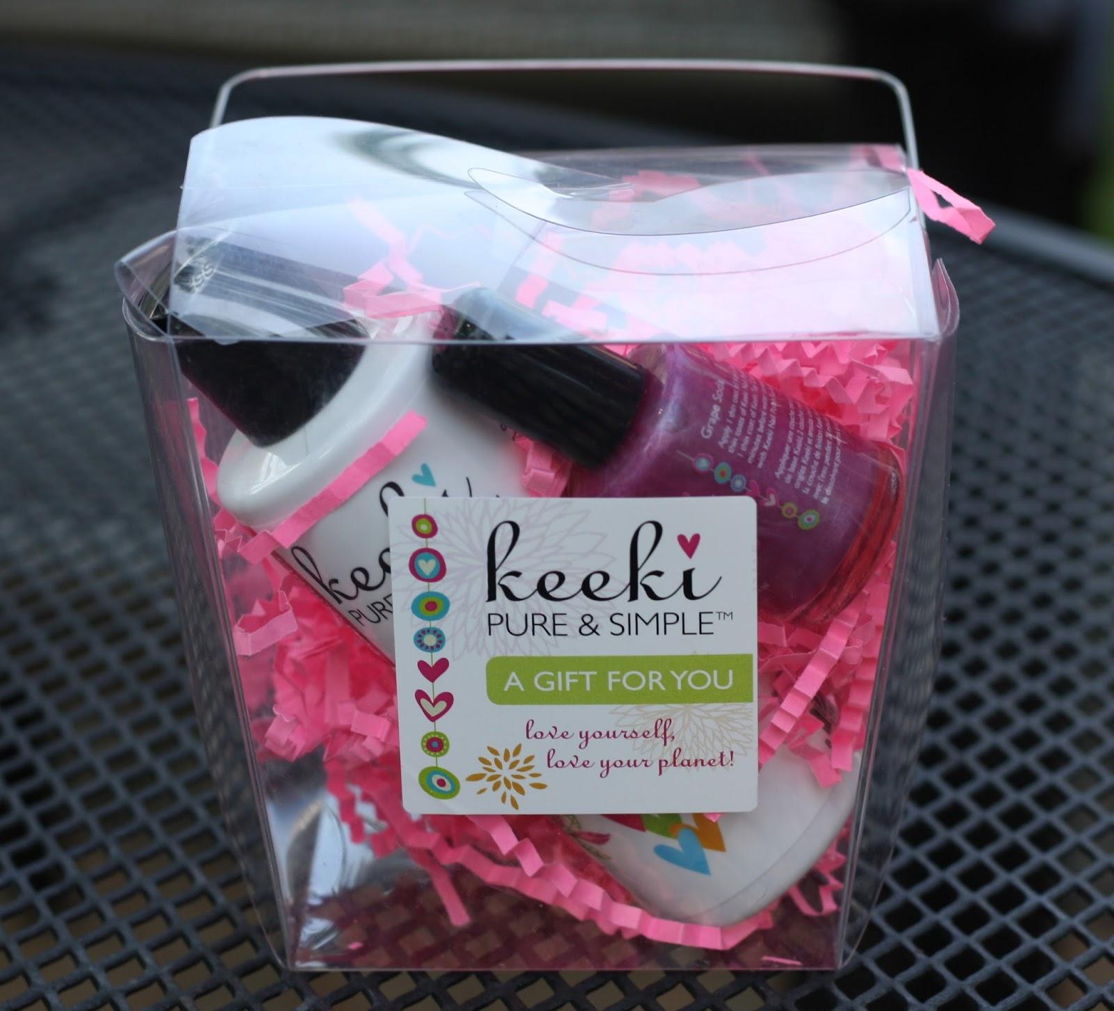 This Week\'s Giveaway: Keeki Pure & Simple - The Chirping Moms