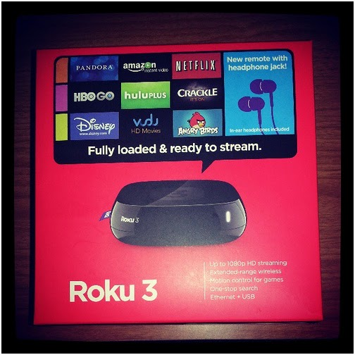 how to connect roku 3 to the internet