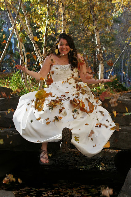 Pixie Dust Bride: {Trends We Love} Really Trashing the Dress