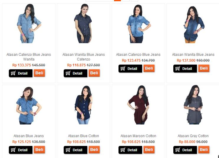 Jual Baju Wanita/cewek online Murah