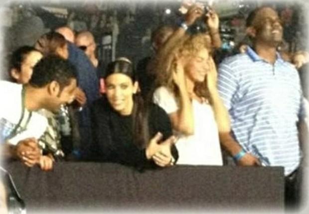 Beyoncé y Kim Kardashian tienen algo en común