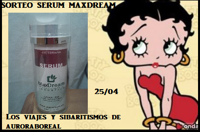 Sorteo serum Maxdream
