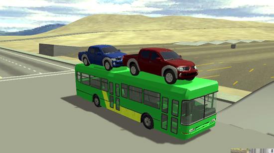 3D Otobüs Simulasyonu