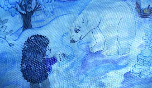 Сказки Леса: Ёжик и Белый Медведь в волшебную ночь