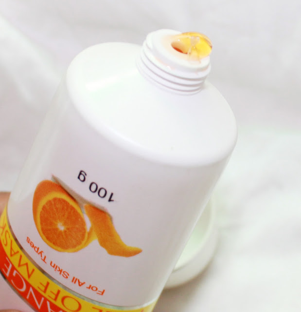 Oxyglow Orange Peel Off Mask review