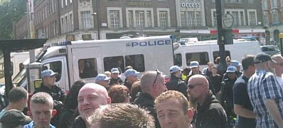 The EDL at Tower Hamlets #4