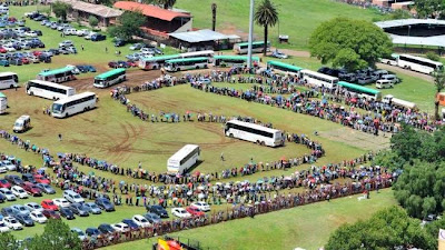 After VIPs mourning South Africans reclaim Madiba