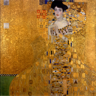Portrait of Adele Bloch-Bauer by Gustav Klimt, 1907