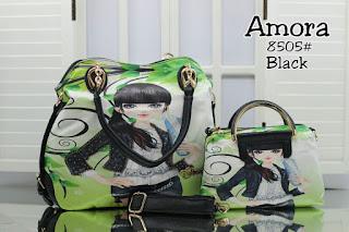 Tas KW Amora Lady Taiga 2in1 Semi Premium 8505AR Jakarta