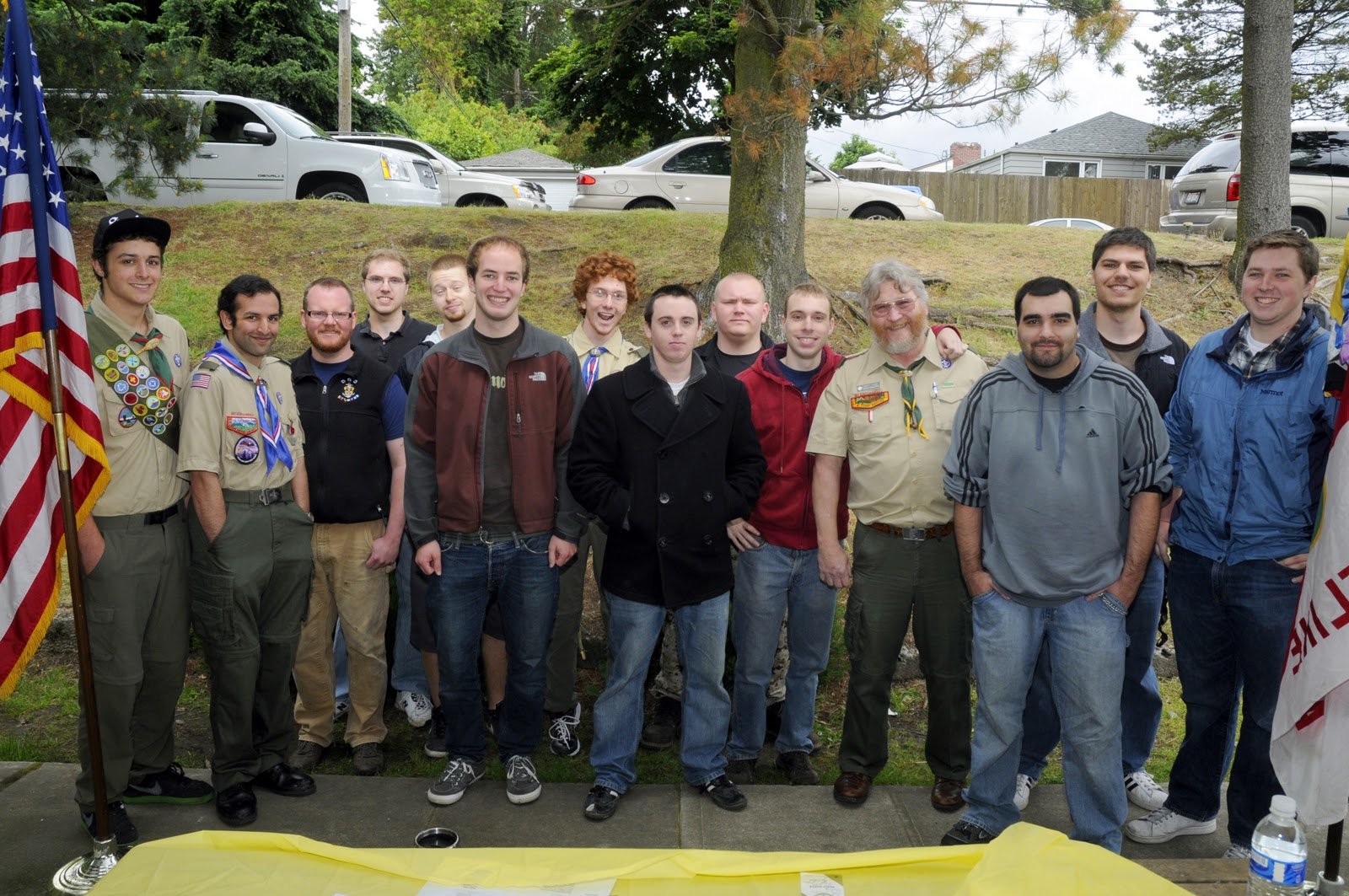 of the Eagle Scouts from