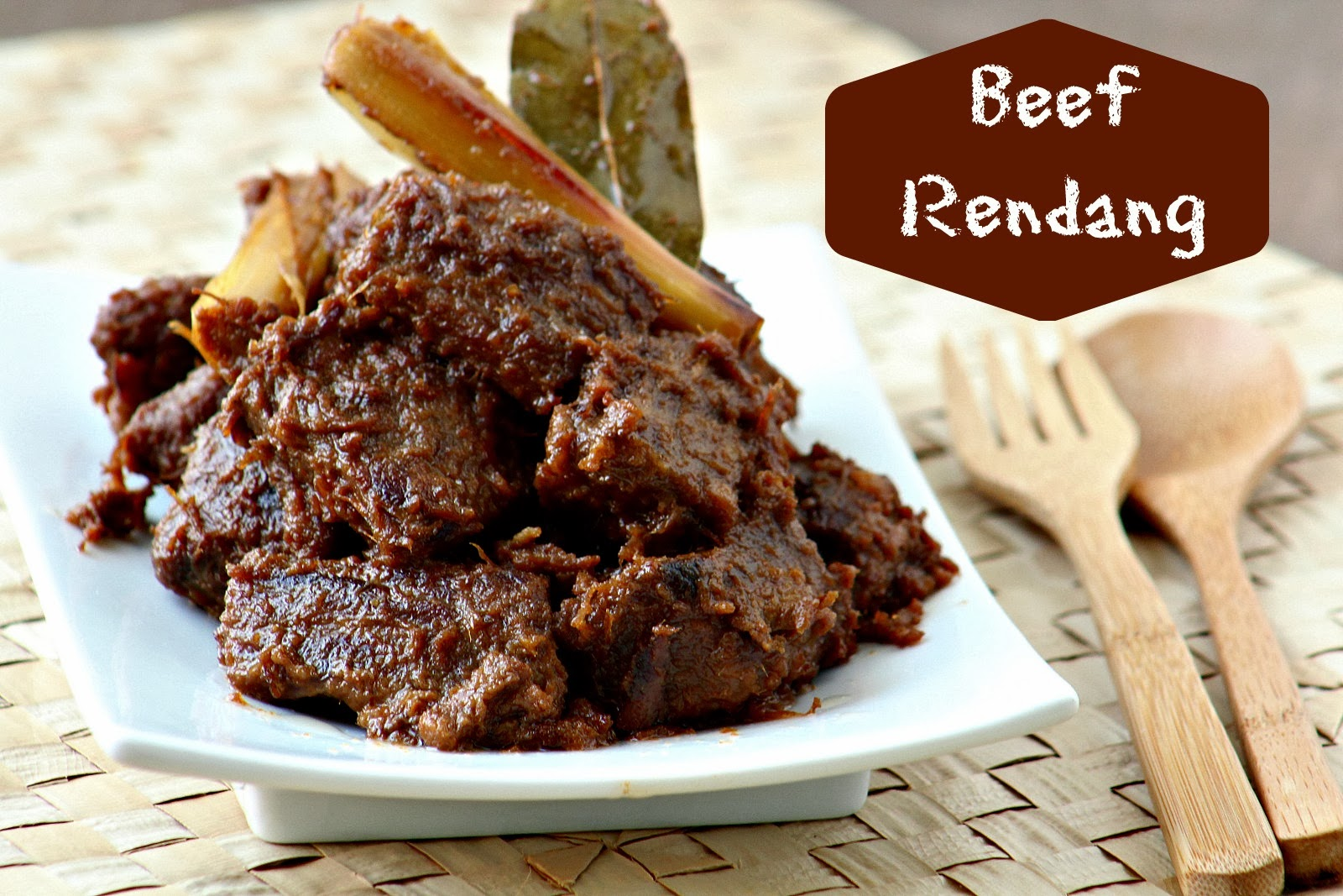Beef Rendang | Manila Spoon