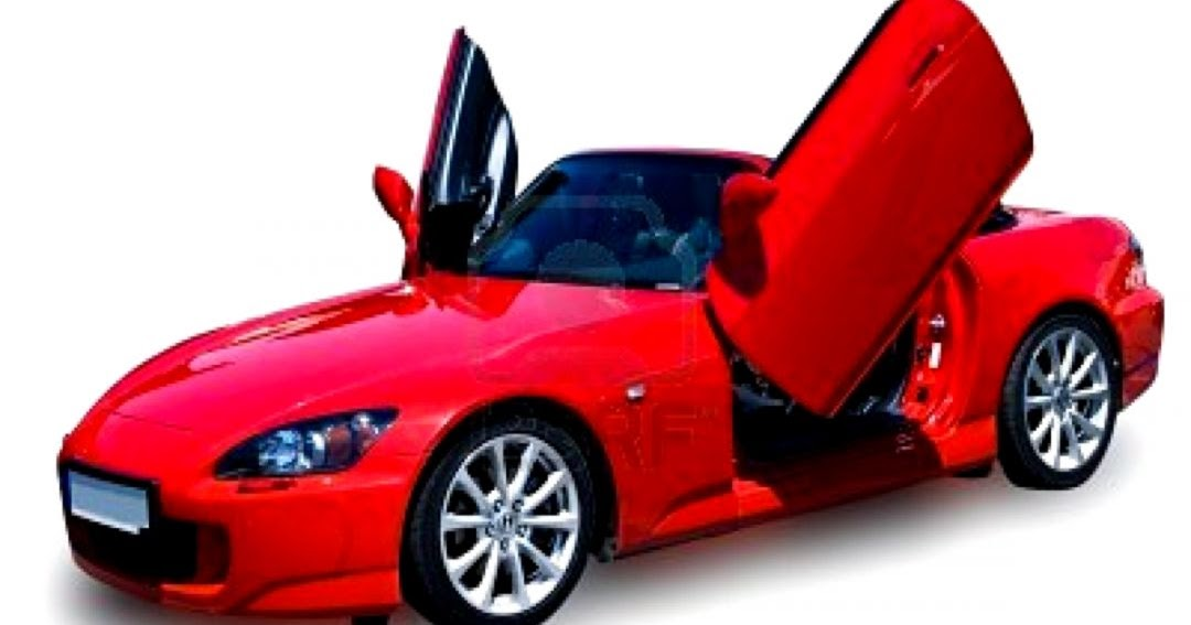 Red Car White Background | Wallpapers Gallery