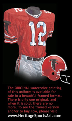 Atlanta Falcons 1978 uniform