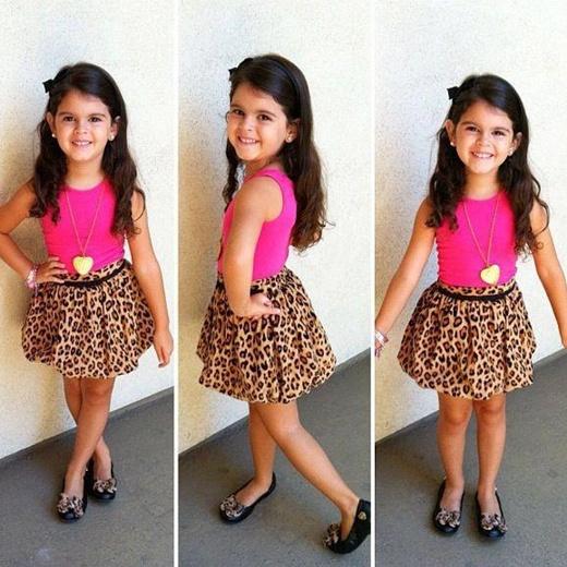 crianças da moda infantil