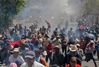 Honduran teacher strike