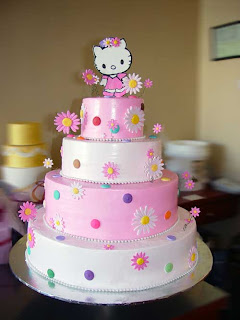 Hello Kitty Birthday Cake Toppers