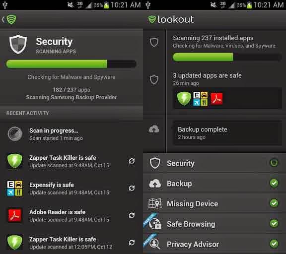 Lookout Security and Antivirus apk