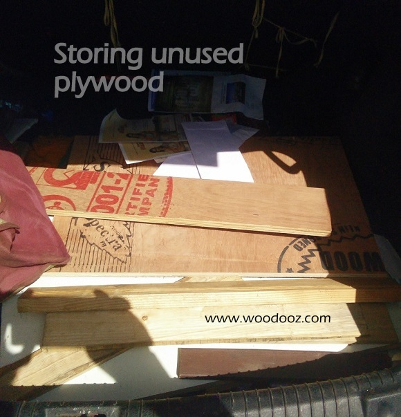 storing plywood