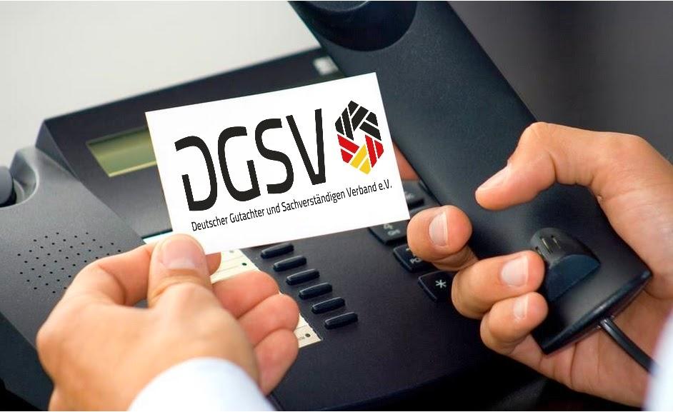 DGSV Deutscher Gutachter und Sachverständigen Verband e.V.
