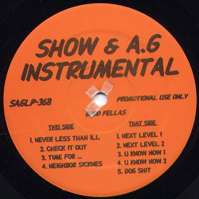 Show & A.G. – Good Fellas Instrumental (Vinyl) (1995) (192 kbps)