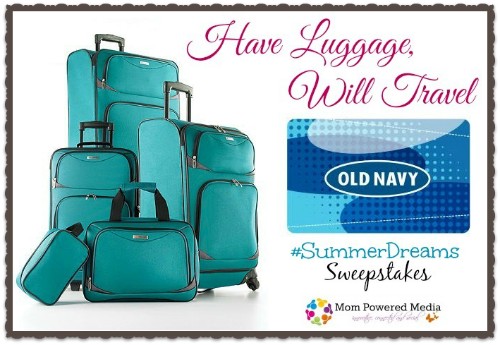 #SummerDreams Have Luggage, Will Travel Sweepstakes #giveaway