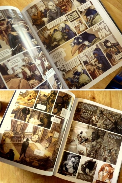 Whoopidooings: Blacksad [Hardcover] Juanjo Guarnido (Artist), Juan Diaz Canales (Author)