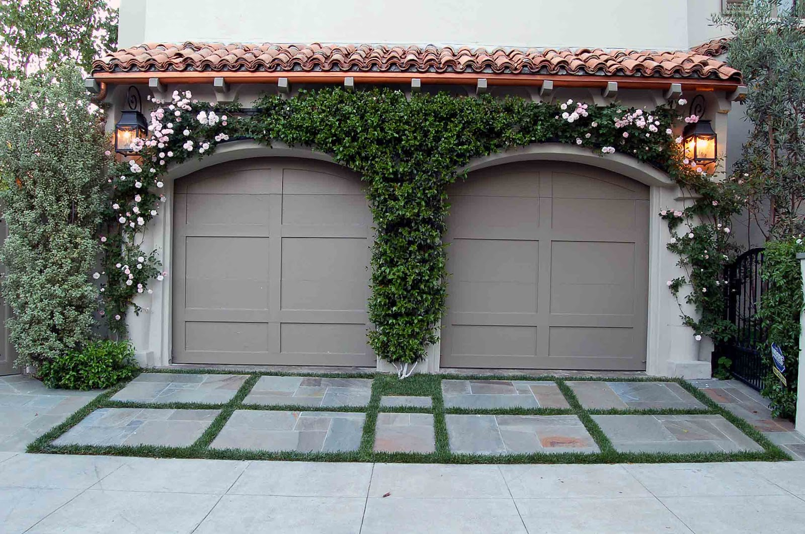 1061 #6A433B Other Plant Choices Of Noteare The Flowering Vine Over The Garage  picture/photo Millennium Garage Doors 36191600