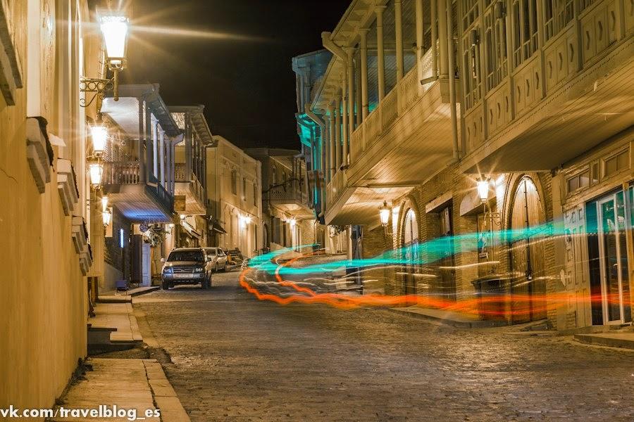 Ночные улицы Сигнахи