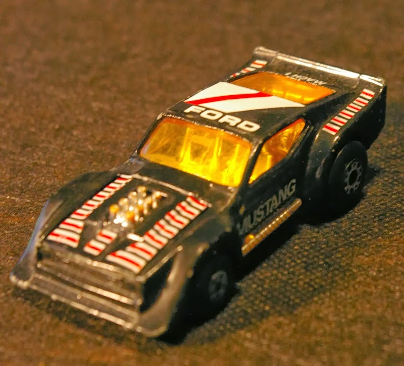 Ford 2 3 Turbo T Bird: Action Figure Adventures: Matchbox Track Burners Puffy