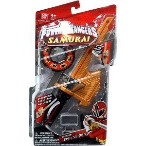 Pre-kindergarten toys - Power Rangers Samurai Spin Sword
