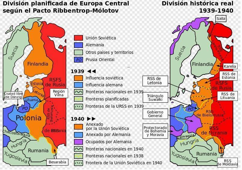 Rusia, Alemania y Ucrania - Blog Geografía Política