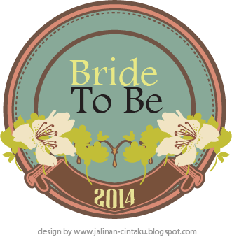 BRIDE TO BE 2014 BADGE - Vintage
