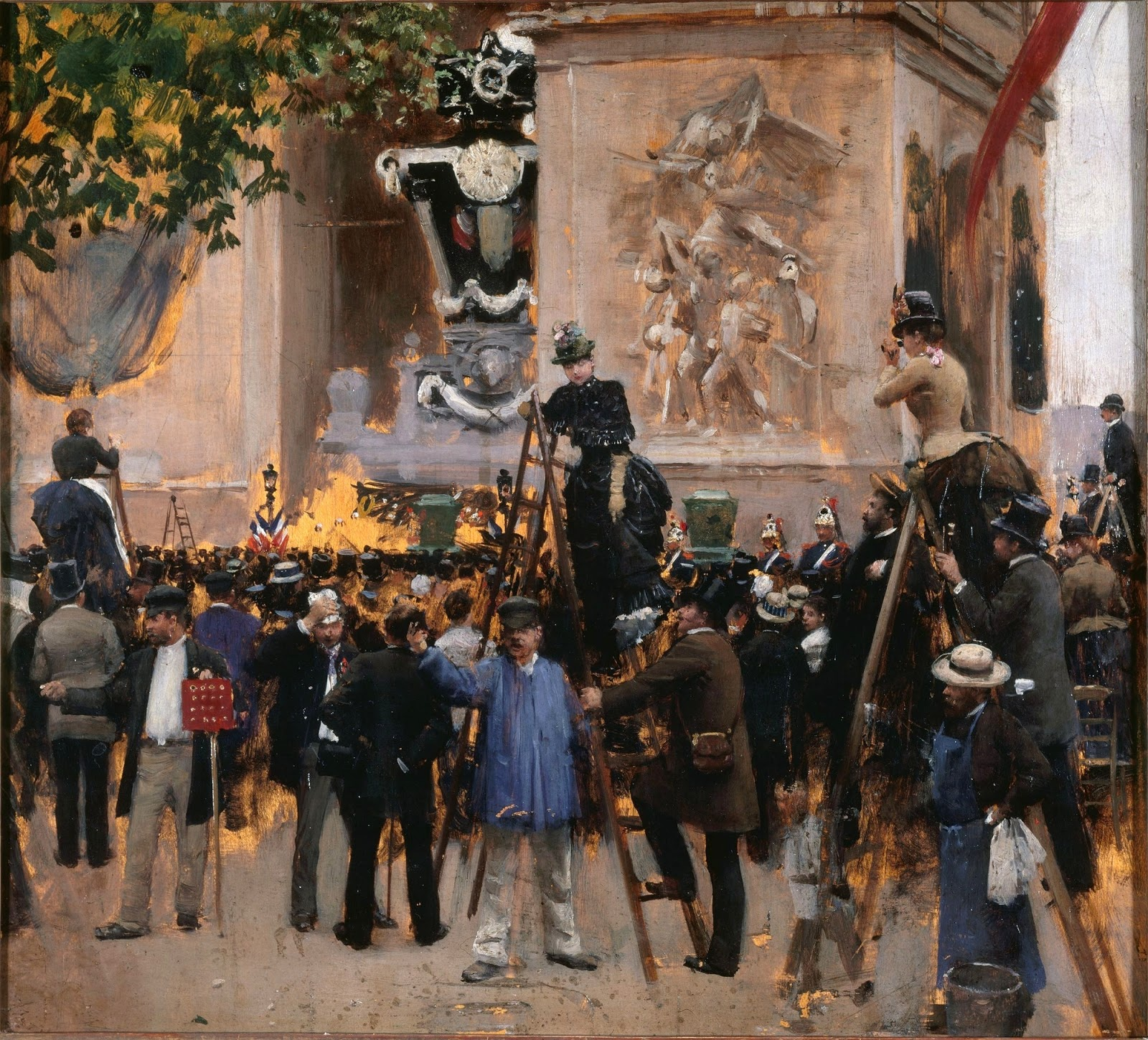 Jean    C Araud  The  Funeral  of  Victor  Hugo C