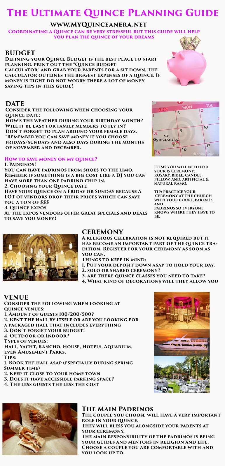 Simplicity image pertaining to printable quinceanera checklist