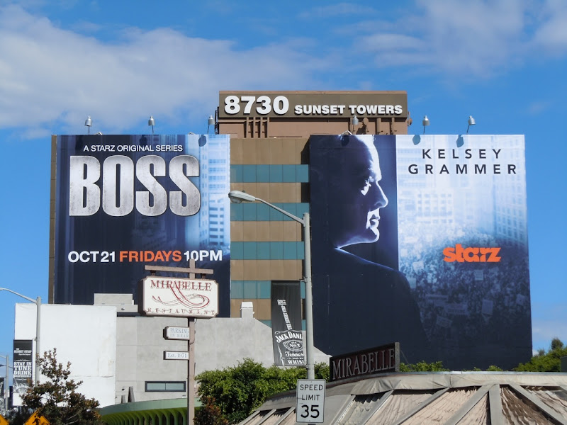 Kelsey Grammer Boss billboard