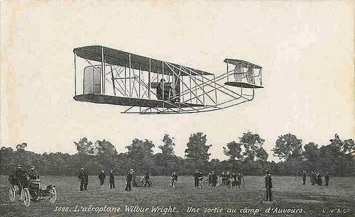 Los hermanos Wright, Orville (Dayton, EE UU, 1871-id., 1948) y Wilbur (Millville, EE UU, 1867-Dayton, id., 1912)