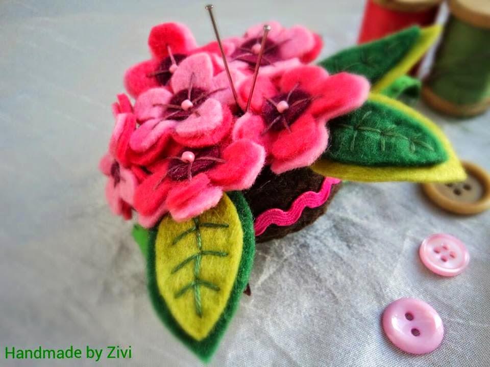 Flores hechas del fieltro Dreamstime - Imagenes De Flores Hechas Con Fieltro